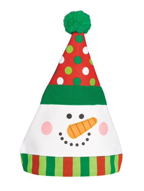 Snowman Whimsical Hat