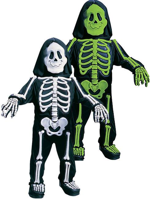 Boy's Skelebones Skeleton Costume