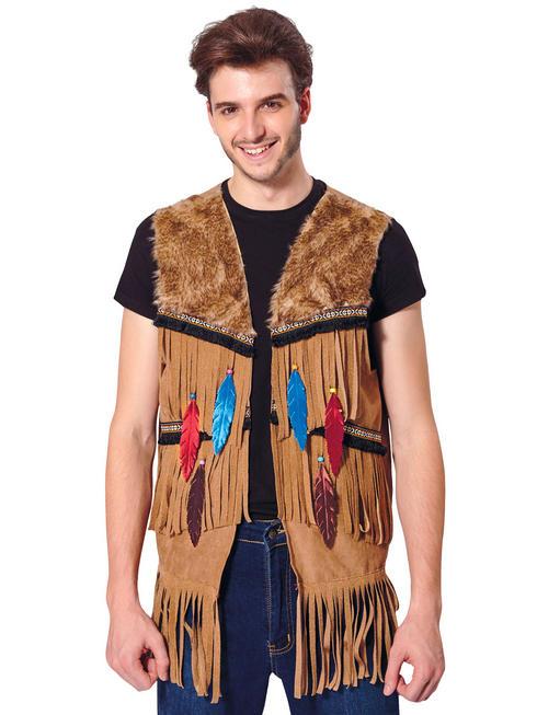 Mens Indian / Hippy Waistcoat