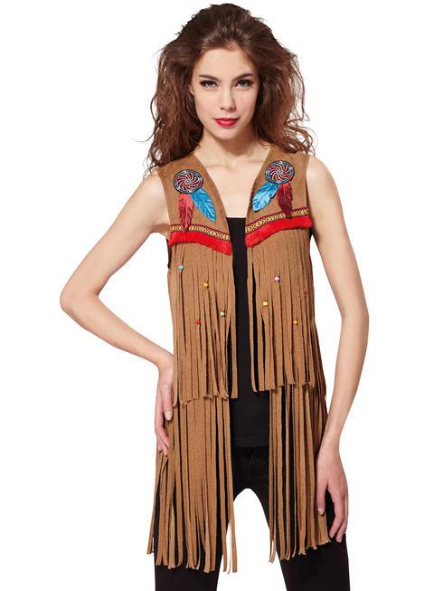 Ladies Indian / Hippy Waistcoat