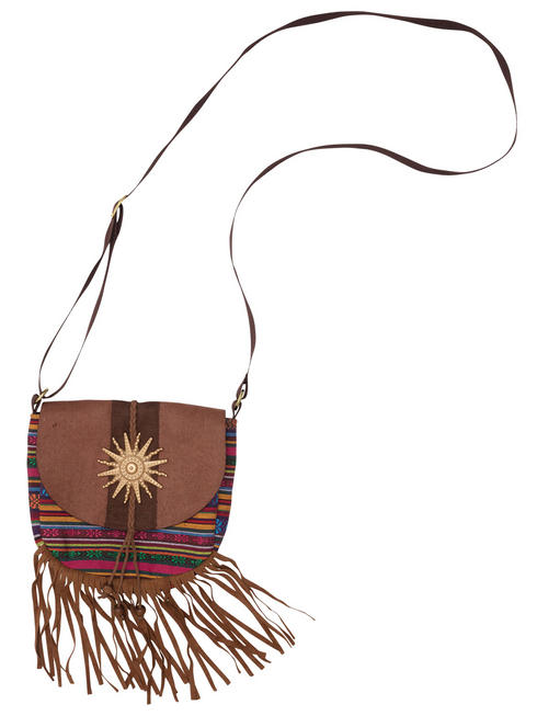 Adult's Hippy Bag with Tassels