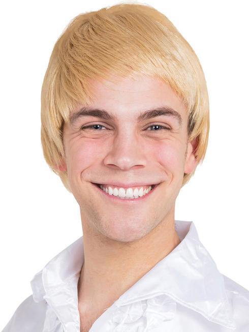 Men's 60s Blonde Wig