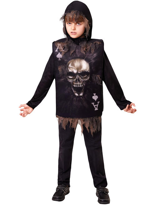 Child's Skeleton Halloween Tabard