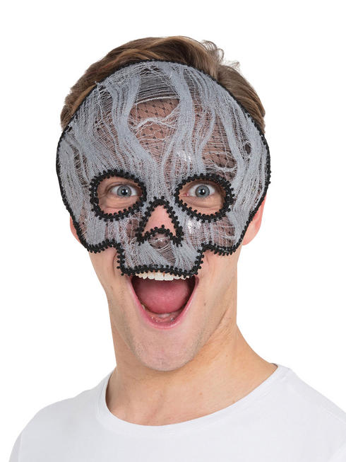 Adult's Ghostly Skull Mask