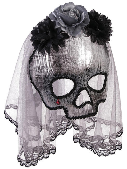 Adult's Ghostly Spirit Mask