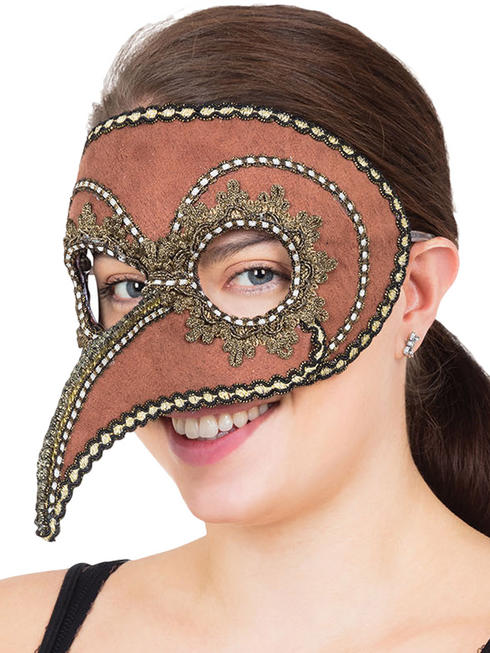 Adult's Steampunk Venetian Mask