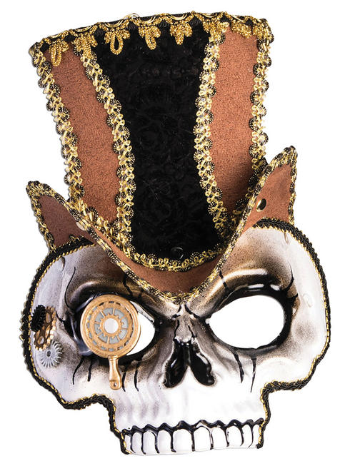 Adult's Steampunk Skull Mask