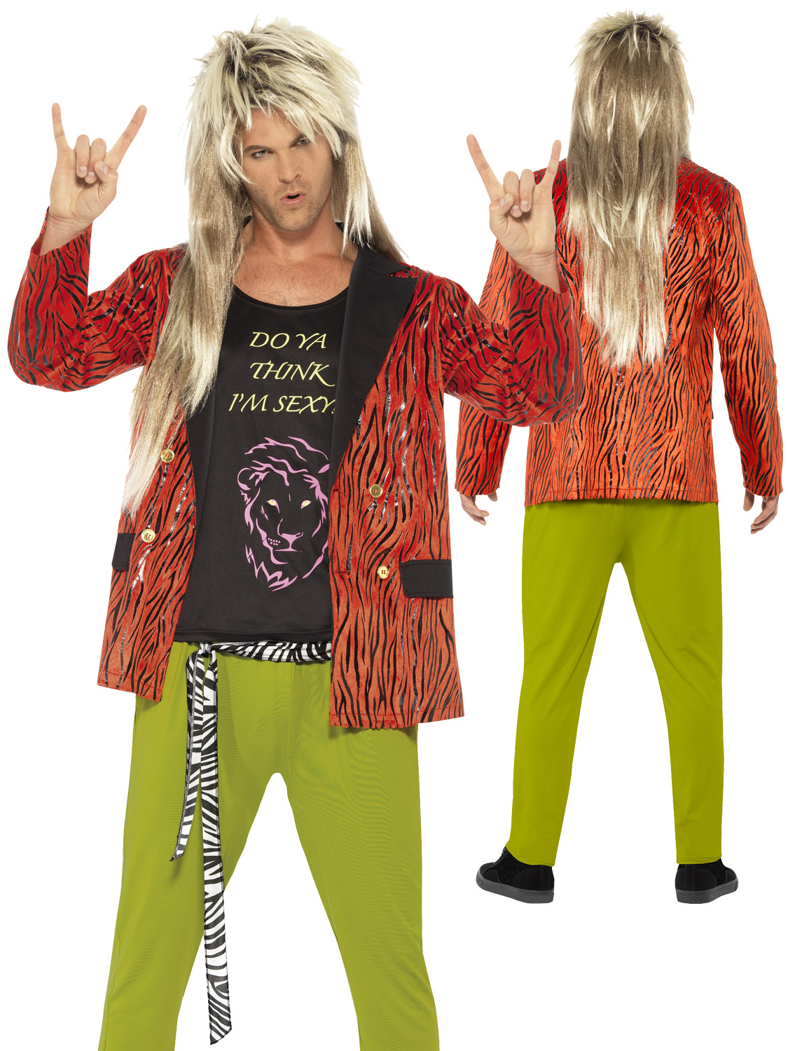 Adults 80s rock star costume mens rocker legend fancy dress 80s transform yourself into an 80s rock star with this mens decades themed fancy dress costume solutioingenieria Image collections