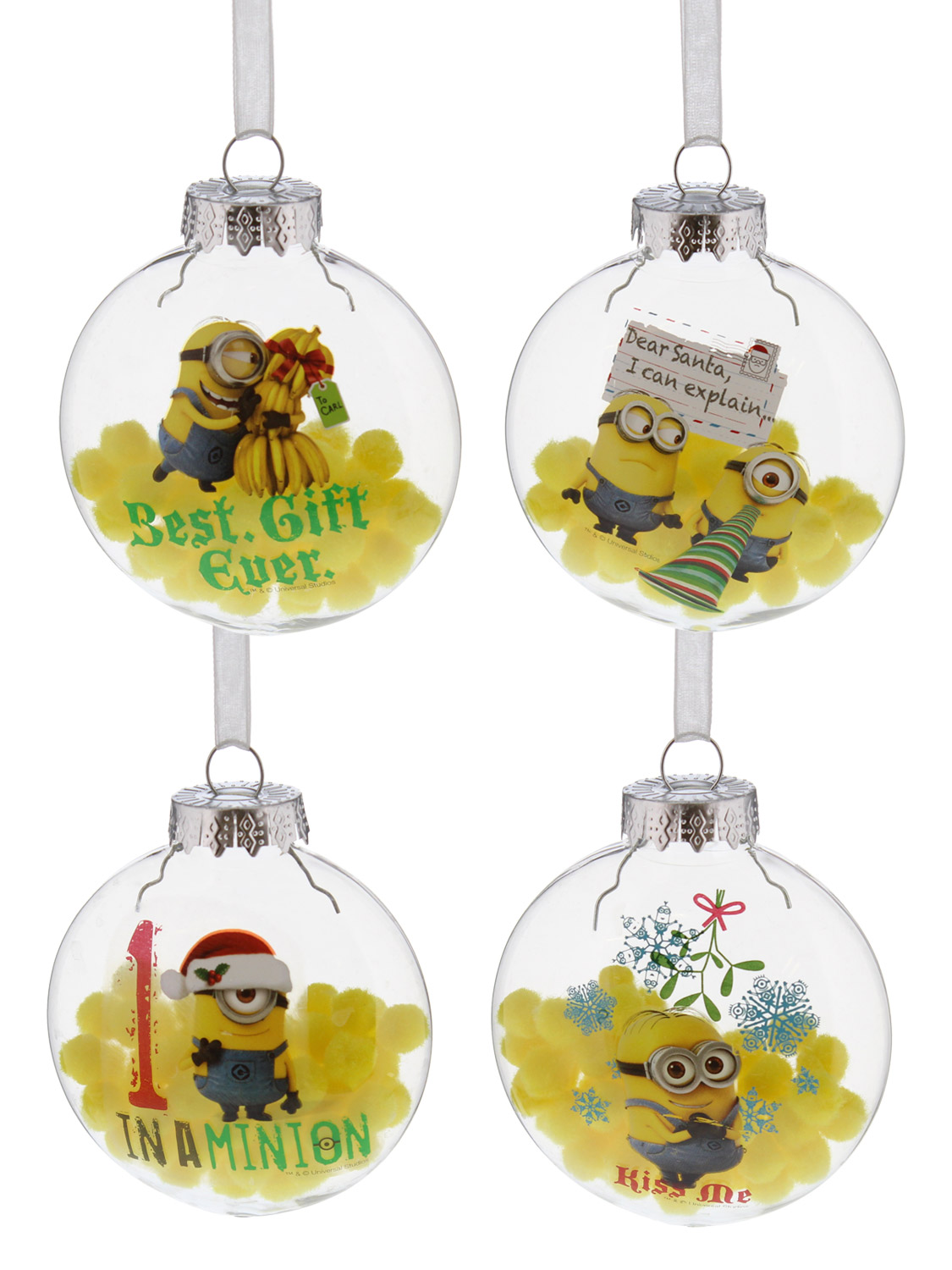 add some magic to your home this christmas with these minions decorations - Minions Christmas Decorations