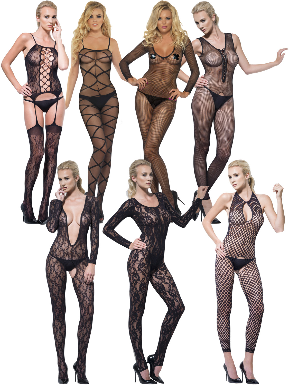 2c62a3e3100 Details about Ladies Sexy Body Stocking Adults Fashion Bodysuit Lingerie  Fancy Dress Womens