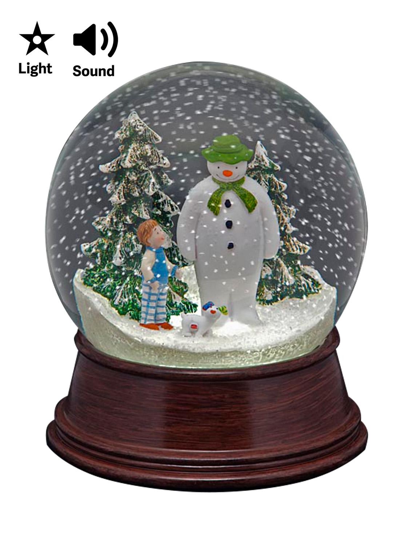 The Snowman Snow Globe LED Christmas Decoration Raymond ...