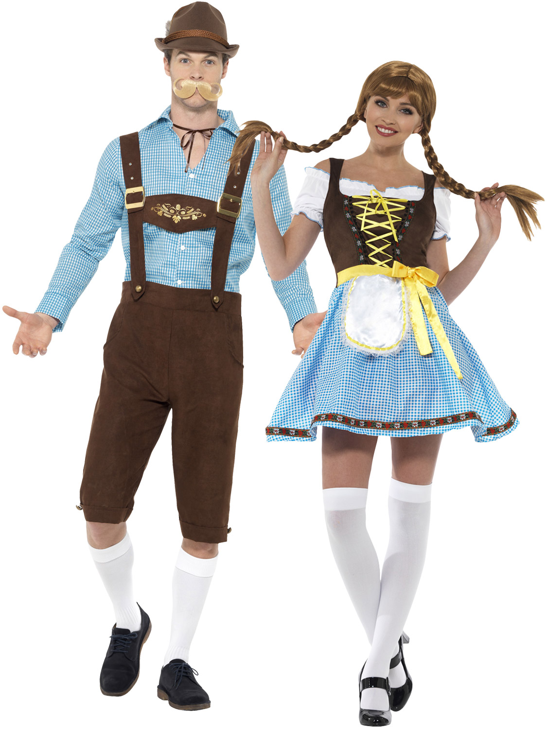 Mens ladies oktoberfest costume bavarian beer lederhosen couples are you going to an oktoberfest party transform yourself into a bavarian with either of these costumes they would look great if you were dressing up as a solutioingenieria Images