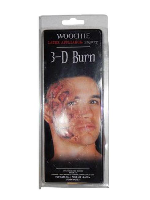 Burn 3D Latex Scar