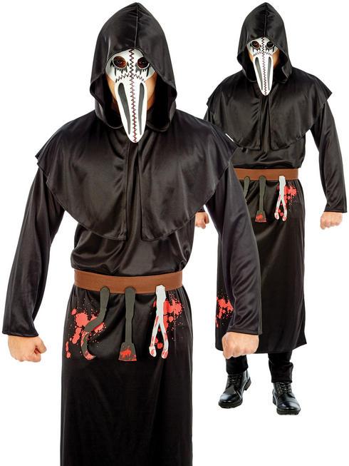Men's Plague Doctor Costume
