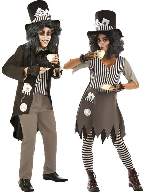 Adult's Hallowed Mad Hatter Costume