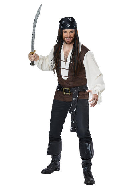 Men's High Seas Adventurer Costume