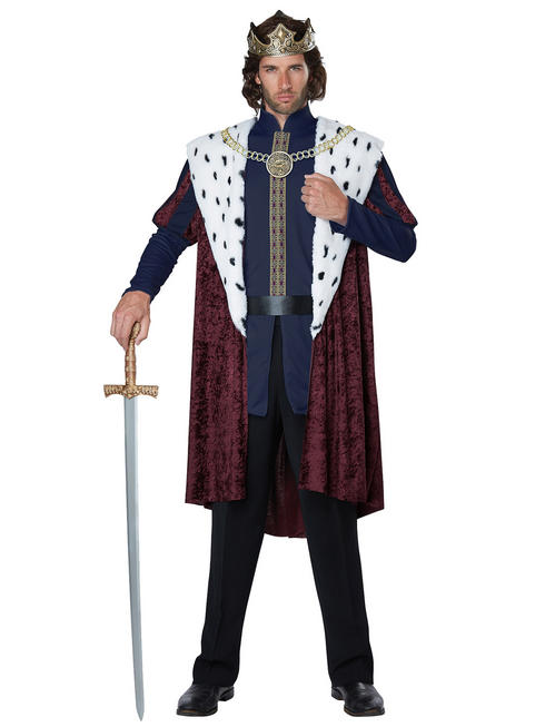 Men's Story Book King Costume