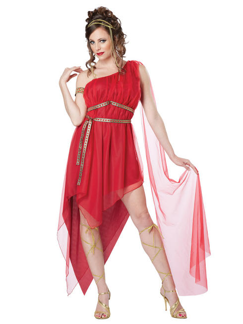 Ladies Ruby Goddess Costume