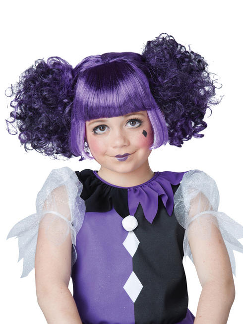 Girl's Gothic Dolly Wig