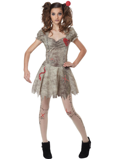 Girl's Voodoo Dolly Costume