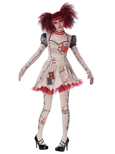 Ladies Voodoo Doll Costume