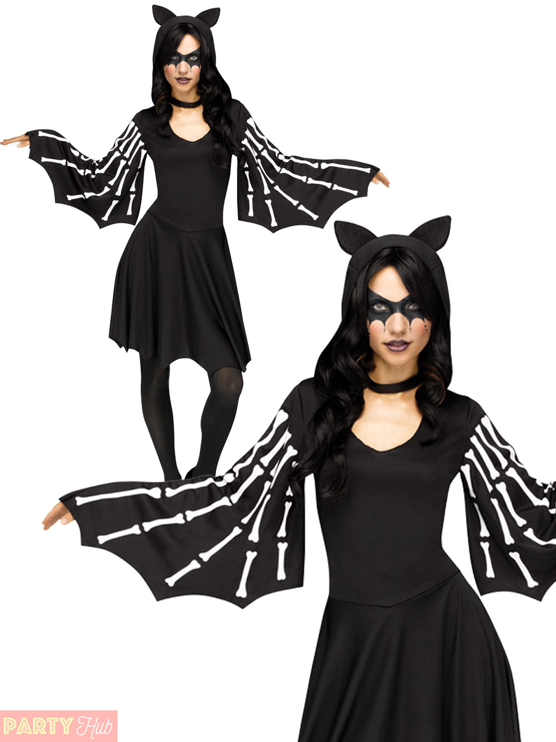 Ladies-Sexy-Bat-Costume-Adults-Halloween-Fancy-Dress-Womens-Animal-Outfit