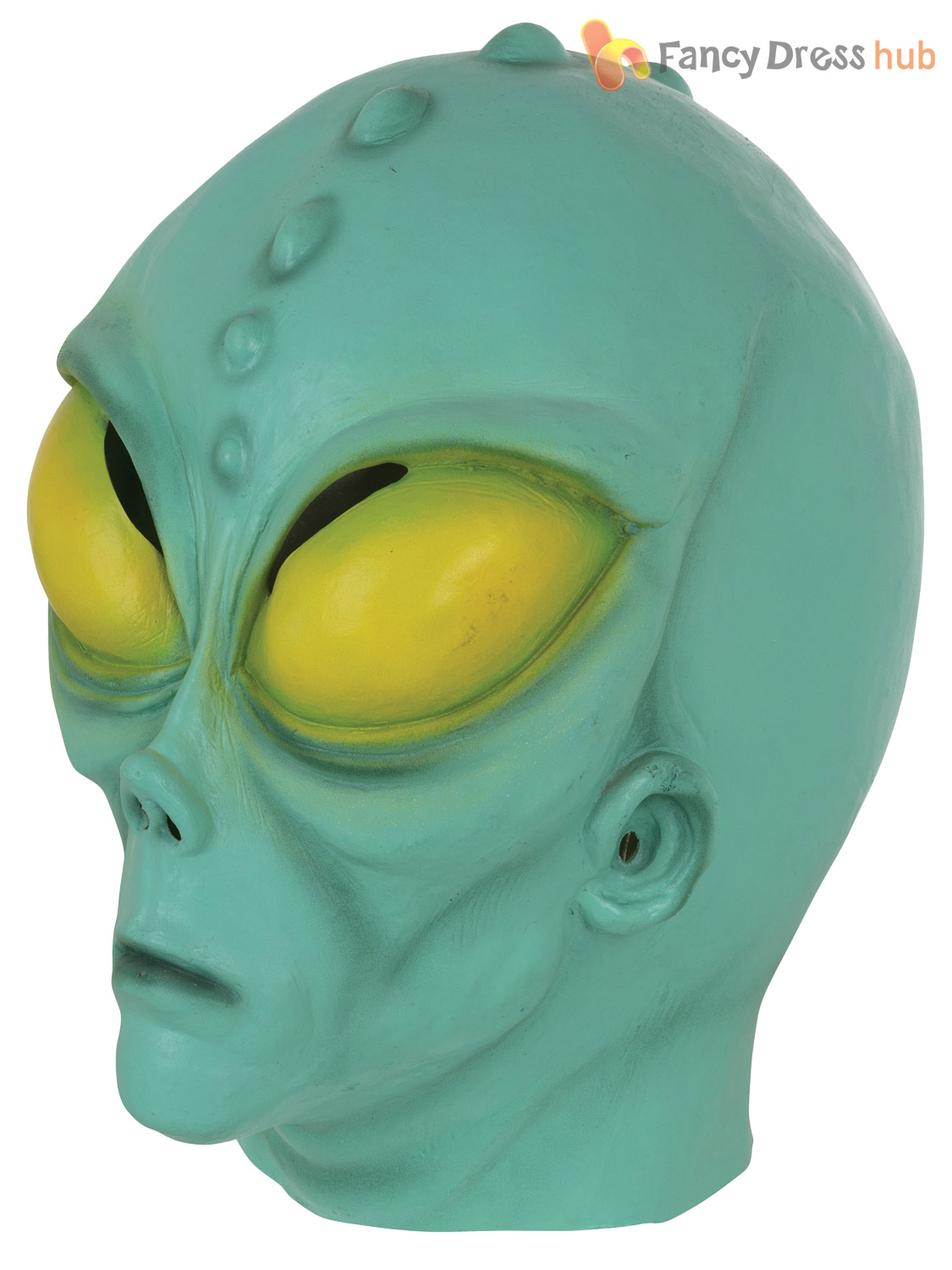 Adults-Alien-Mask-Mens-Extra-Terrestrial-Halloween-Fancy-  sc 1 st  eBay & Adults Alien Mask Mens Extra Terrestrial Halloween Fancy Dress ...