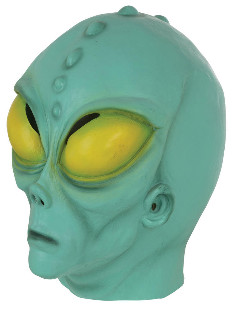 Adult's Alien Over the Head Mask
