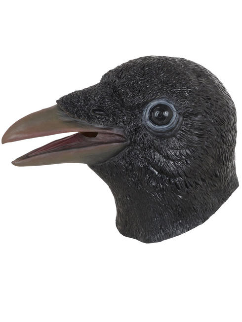 Adult's Zombie Crow Mask