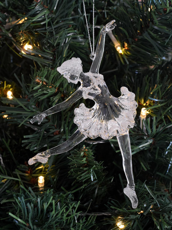 Gisela graham ballerina christmas tree decoration hanging for Ballerina christmas tree decoration