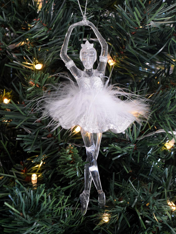 Gisela graham ballerina fairy christmas tree decoration for Ballerina decoration