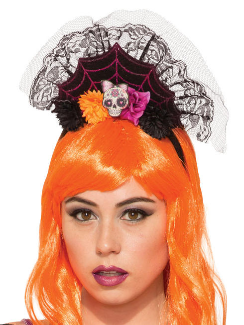 Ladies Day of the Dead Headband