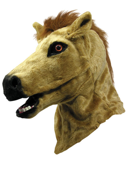 Adult's Horse Moving Mouth Mask