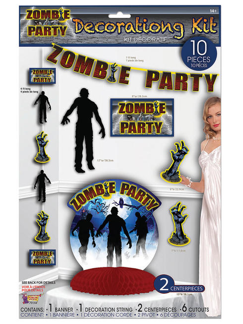 Zombie Party Décor Set