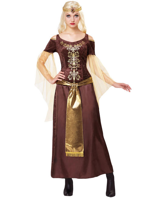 Ladies Medieval Lady Costume