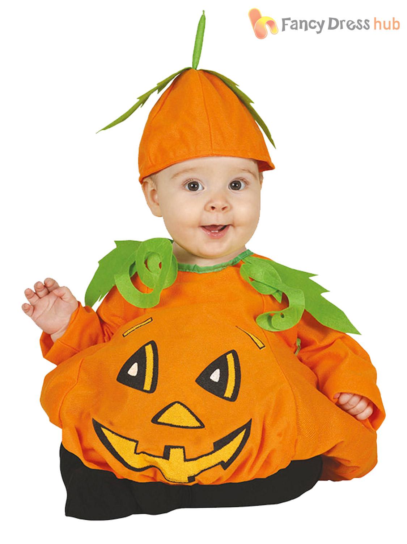c9d87c0894c Details about Baby Toddler Pumpkin Halloween Costume Cute Child Fancy Dress  Outfit Girls Boys