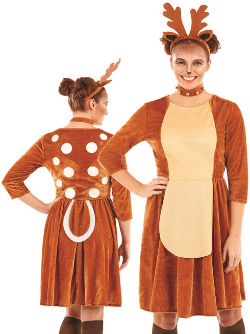 Ladies Reindeer Costume