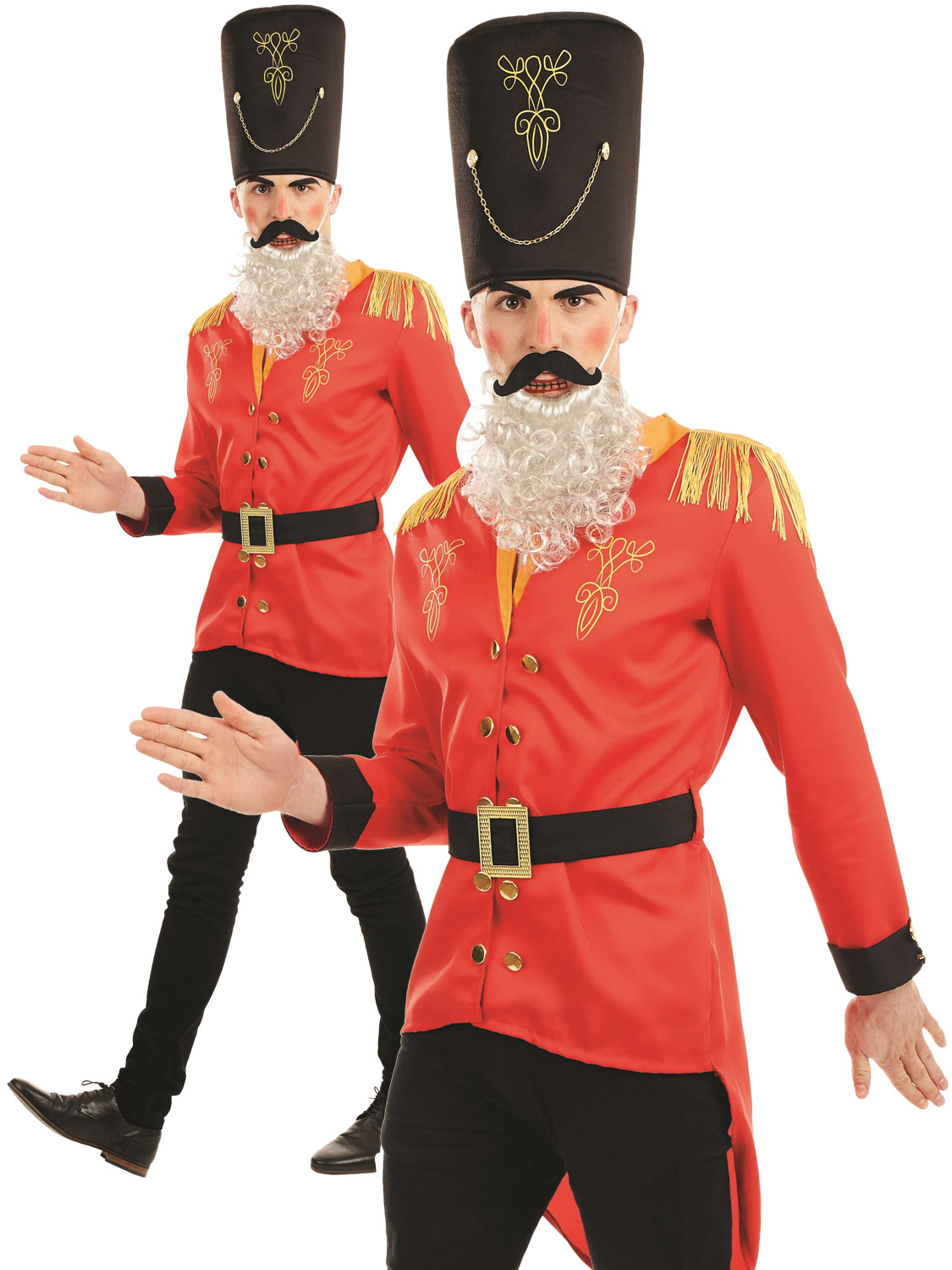 Mens nutcracker costume all christmas fancy dress hub mens nutcracker costume solutioingenieria Choice Image
