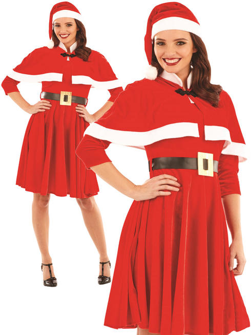 Ladies Lady Santa Costume
