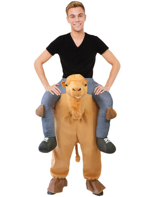 Adult's Camel Piggy Back Costume
