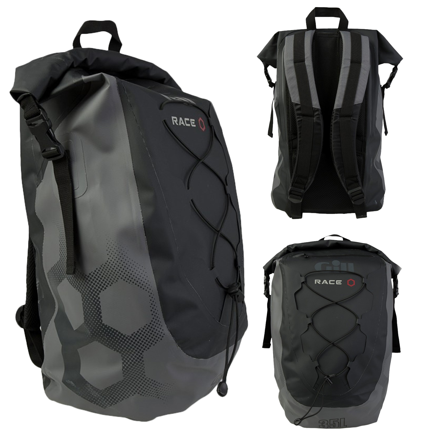Gill Race Team Dry Backpack 35L | Accessories | Outdoor Hub