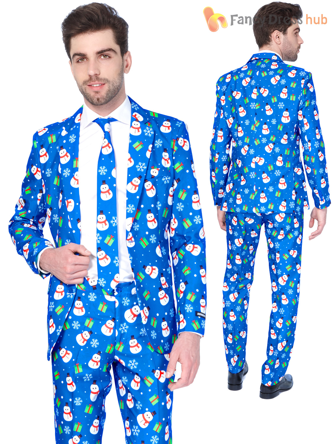 mens christmas tree suitmeister suit xmas party festive - Christmas Suits For Mens