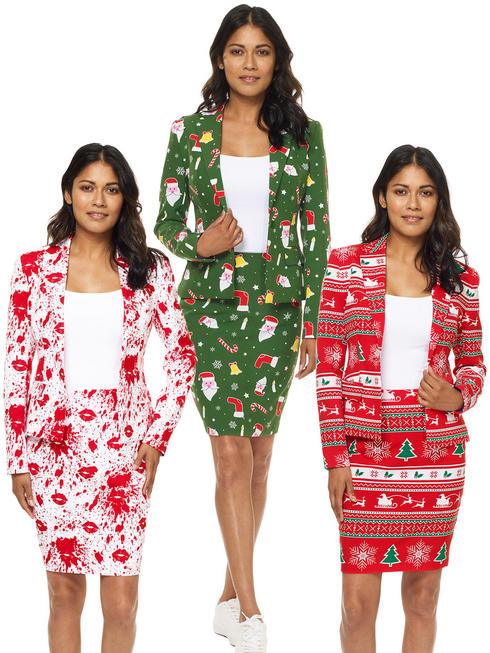 Ladies Christmas Oppo Suits