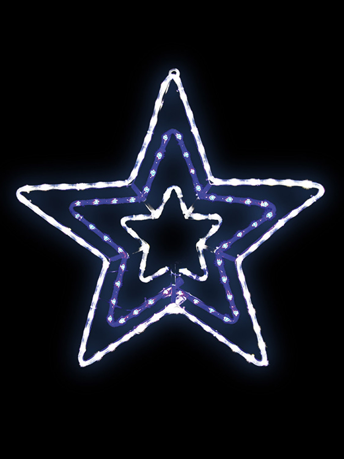 Christmas led outdoor rope light 65cm snowflake star decoration blue christmas led outdoor rope light 65cm snowflake star aloadofball Gallery