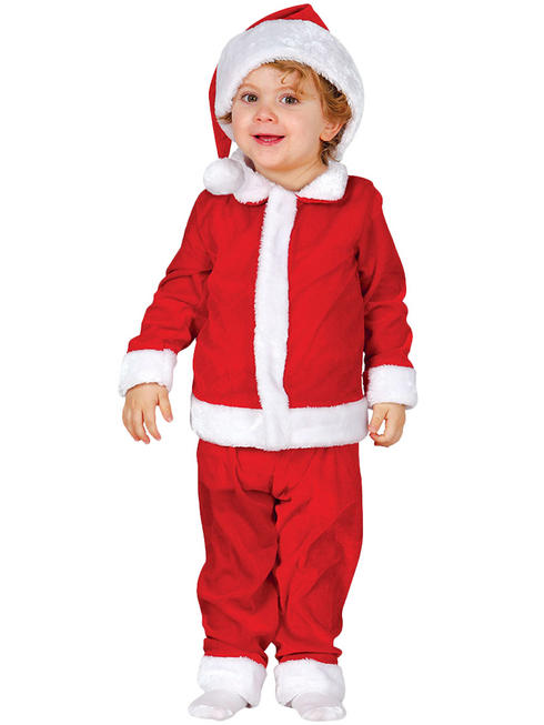 Child's Toddler Santa Costume