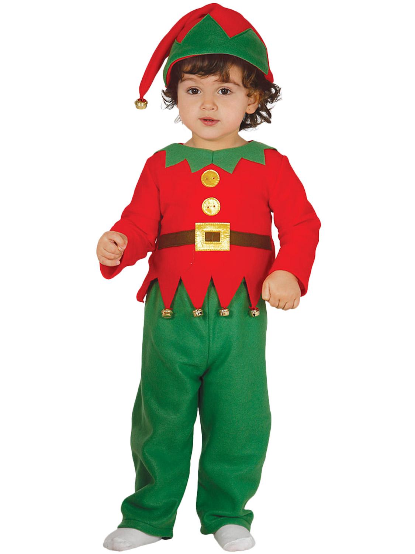 Child 39 s toddler elf costume all children fancy dress hub - Traje de duende para nino ...
