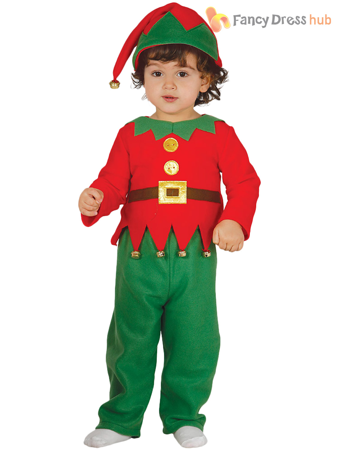 d0d610e6866d Elf Costume For Baby Boy   Baby Girl Christmas Outfit Baby Elf ...