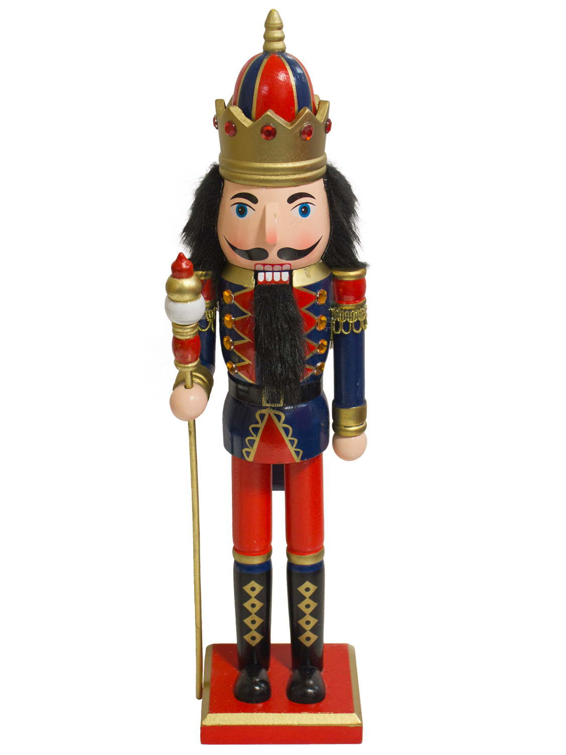 """39cm/ 15"""" Traditional Wooden Nutcracker Soldier Christmas ..."""