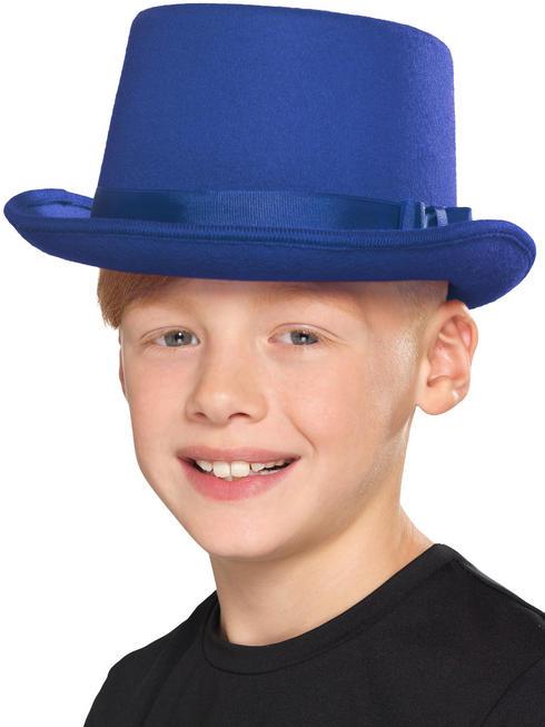 Child's Blue Top Hat