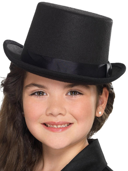 Child's Black Top Hat
